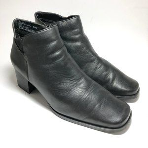 Bass Nadine Leather Ankle Booties